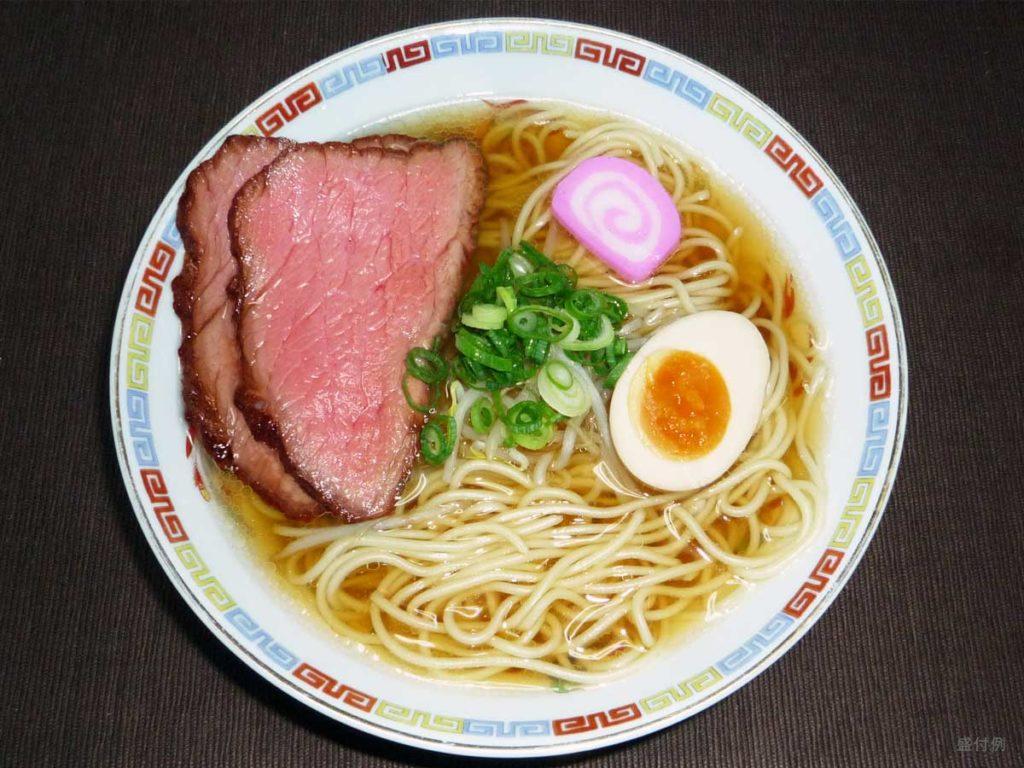 ローストビーフラーメン_roast beef ramen